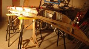 prvi leseni kajak